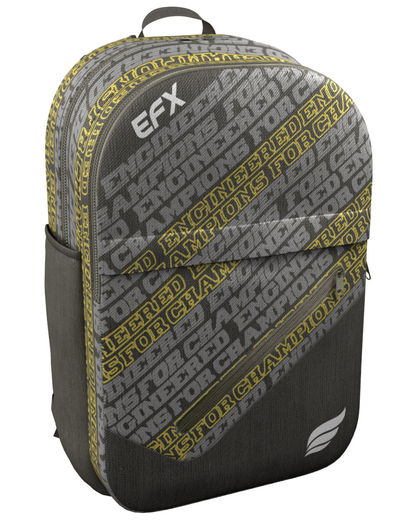 EFX - ENGINEERED FOR CHAMPIONS YELLOW BACKPACK