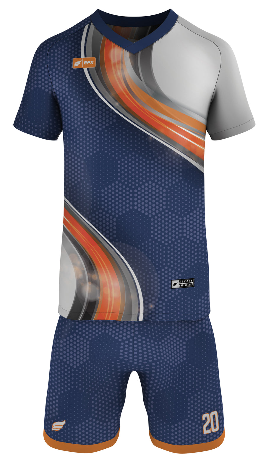 EFX Soccer Uniform - Abstracx