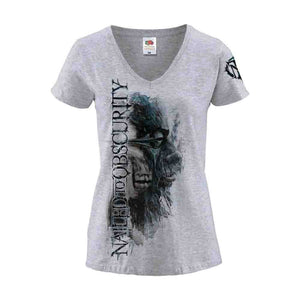 """Black Frost"" Girl-Shirt (Grey Coloured)"