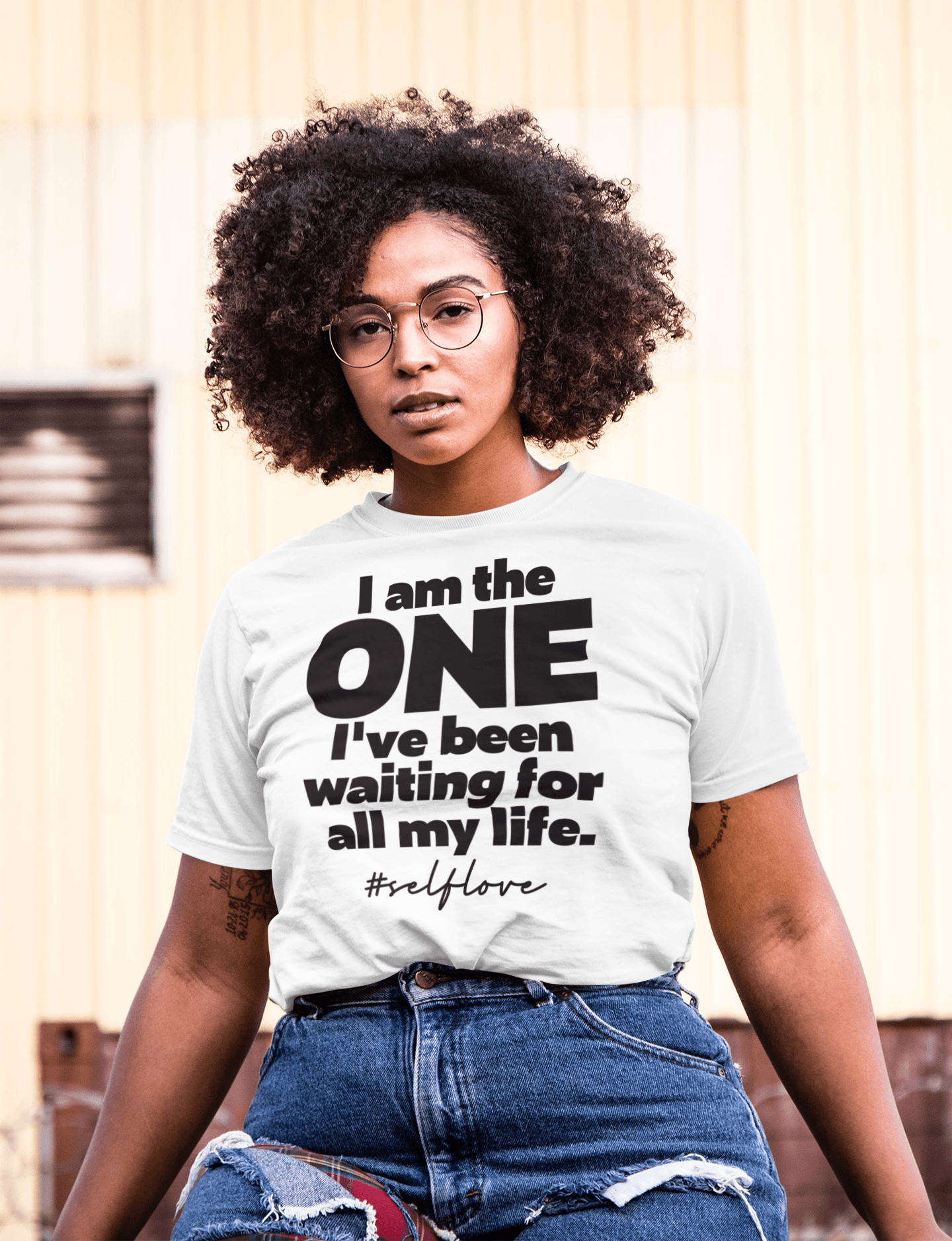 I AM THE ONE TEE - locsandchucks