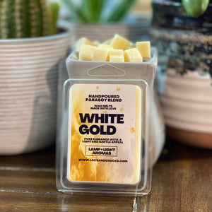 WHITE GOLD WAX MELTS