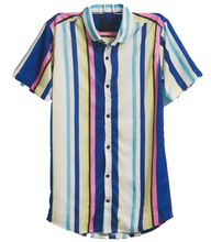 Load image into Gallery viewer, Random Multicolour Stripes - Shirt