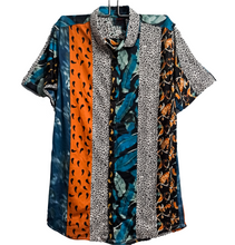 Load image into Gallery viewer, Leopard Leaves Abstract Shirt for Men
