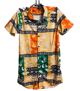 Orange Culture Abstract - Shirt