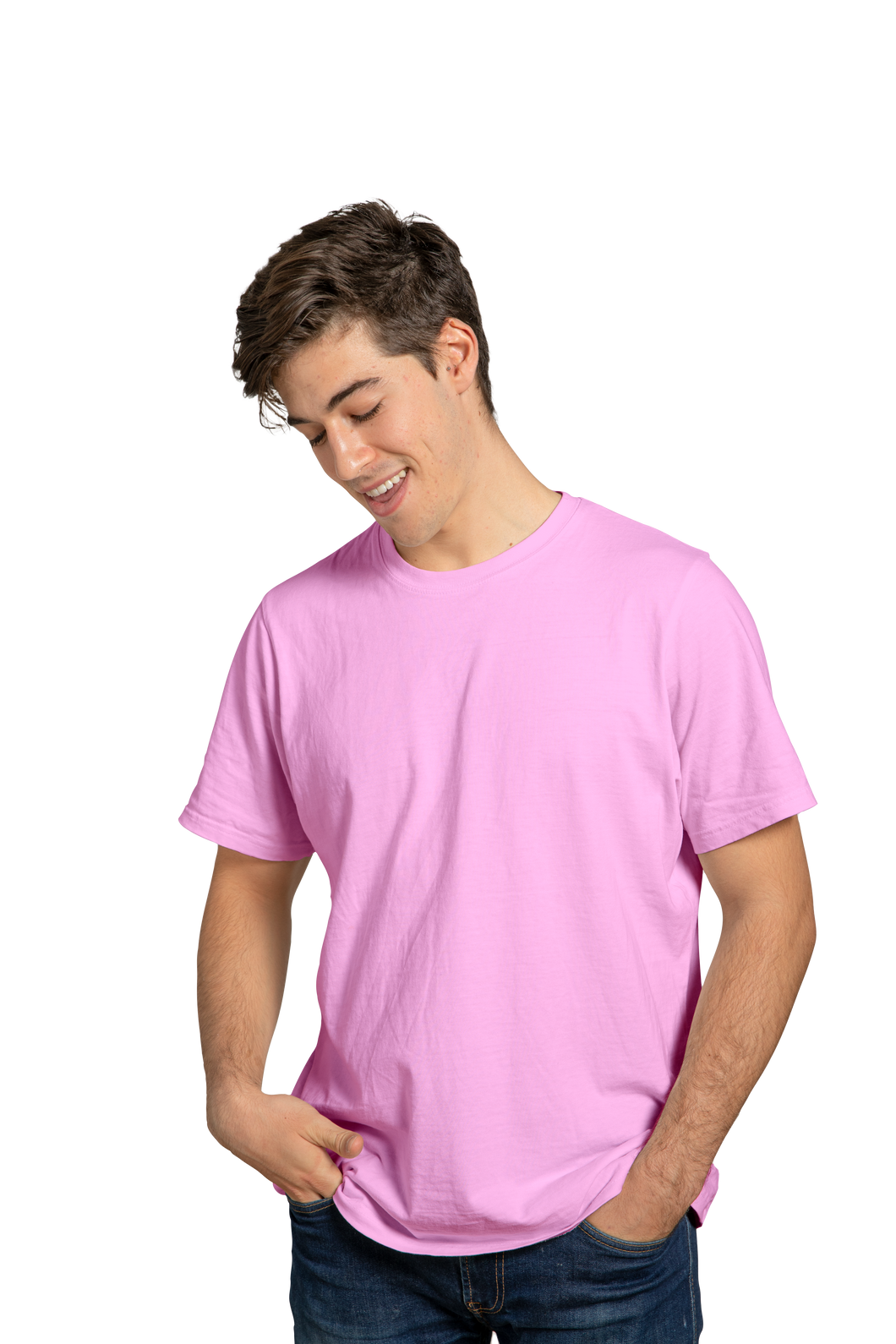 LIGHT PINK - PLAIN T-SHIRT