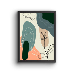 Abstract 005 Poster Frame