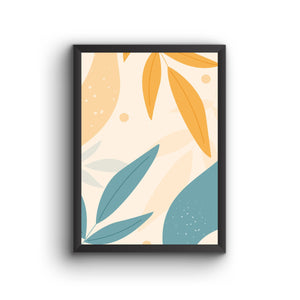 Abstract 022 Poster Frame