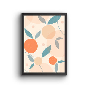 Abstract 024 Poster Frame