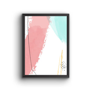 Abstract 026 Poster Frame