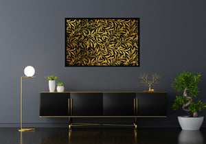 The Golden Leaves Poster Frame