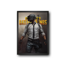 Load image into Gallery viewer, PUBG - PlayerUnknown's Battlegrounds Poster Frame