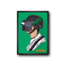Load image into Gallery viewer, PUBG Green Poster Frame