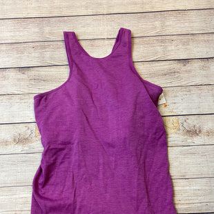 Primary Photo - BRAND: LULULEMON STYLE: ATHLETIC TANK TOP COLOR: PURPLE SKU: 204-20460-49612