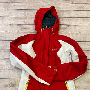 Primary Photo - BRAND: COLUMBIA STYLE: JACKET OUTDOOR COLOR: RED WHITE SIZE: S SKU: 204-20489-8991