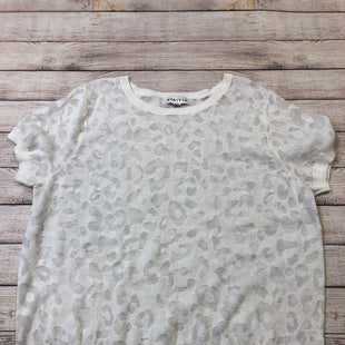 Primary Photo - BRAND: AVA & VIV STYLE: SWEATER SHORT SLEEVE COLOR: WHITE SIZE: 2X SKU: 204-20438-94695