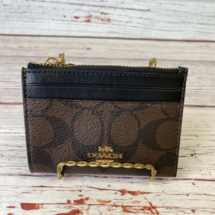 Primary Photo - BRAND: COACH STYLE: COIN PURSE COLOR: BROWN SIZE: SMALL SKU: 204-20494-3656