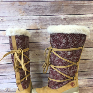 Primary Photo - BRAND: TIMBERLAND STYLE: BOOTS DESIGNER COLOR: BROWN SIZE: 5.5 SKU: 204-20490-4410