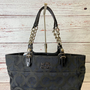 Primary Photo - BRAND: COACH STYLE: HANDBAG DESIGNER COLOR: BLACK SIZE: MEDIUM SKU: 204-20450-1693