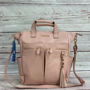 Primary Photo - BRAND: LILY JADESTYLE: HANDBAG COLOR: PINK SIZE: LARGE OTHER INFO: LILY JADE - SKU: 204-20438-112888.
