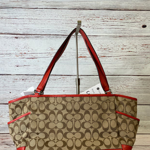 Primary Photo - BRAND: COACH STYLE: HANDBAG DESIGNER COLOR: RED SIZE: MEDIUM SKU: 204-20494-3475