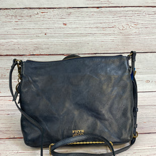 Primary Photo - BRAND: FRYE STYLE: HANDBAG DESIGNER COLOR: NAVY SIZE: MEDIUM SKU: 204-20490-6965