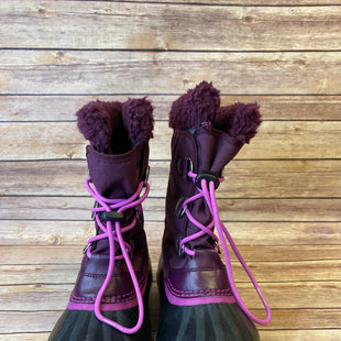 Primary Photo - BRAND: SOREL STYLE: BOOTS DESIGNER COLOR: MAROON SIZE: 6 SKU: 204-20460-49596