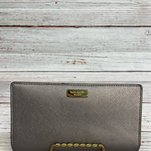 Primary Photo - BRAND: KATE SPADE STYLE: WALLET COLOR: GREY SIZE: SMALL SKU: 204-20494-3329