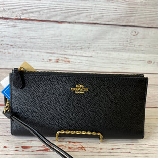 Primary Photo - BRAND: COACH STYLE: WRISTLET COLOR: BLACK SKU: 204-20494-3654