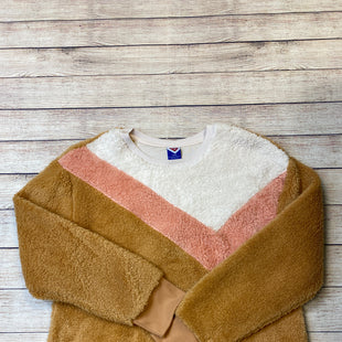 Primary Photo - BRAND:    CLOTHES MENTOR STYLE: FLEECE COLOR: TAN SIZE: L SKU: 204-20460-48578