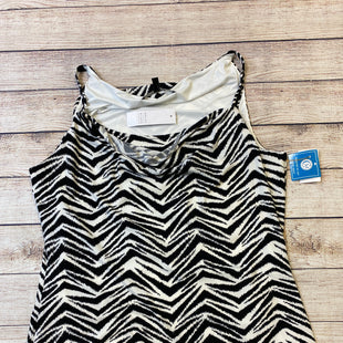 Primary Photo - BRAND: WHITE HOUSE BLACK MARKET STYLE: TANK TOP COLOR: WHITE BLACK SIZE: L SKU: 204-20438-107758