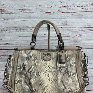 Primary Photo - BRAND: COACH STYLE: HANDBAG DESIGNER COLOR: SNAKESKIN PRINT SIZE: LARGE SKU: 204-20460-53575