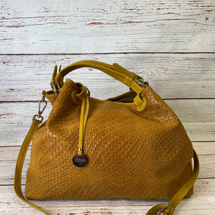 Primary Photo - BRAND:  CMA STYLE: HANDBAG DESIGNER COLOR: YELLOW SIZE: LARGE OTHER INFO: FIORE - SKU: 204-20450-1709