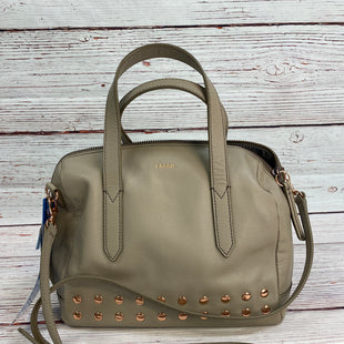 Primary Photo - BRAND: FOSSIL STYLE: HANDBAG DESIGNER COLOR: GREY SIZE: MEDIUM SKU: 204-20438-112886