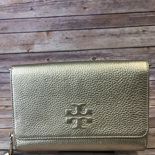 Primary Photo - BRAND: TORY BURCH STYLE: CLUTCH COLOR: GOLD OTHER INFO: AS IS- MISSING STRAP SKU: 204-20493-3709