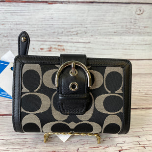 Primary Photo - BRAND: COACH STYLE: WALLET COLOR: BLACK SIZE: SMALL SKU: 204-20494-3653