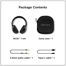 Load image into Gallery viewer, Hybrid ANC headphones NC35  Foldable over-ear design