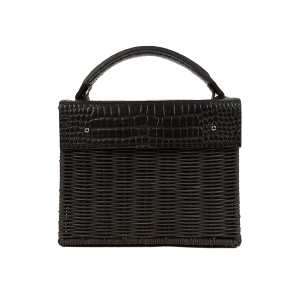 Black Wicker Bag (4660750024843)