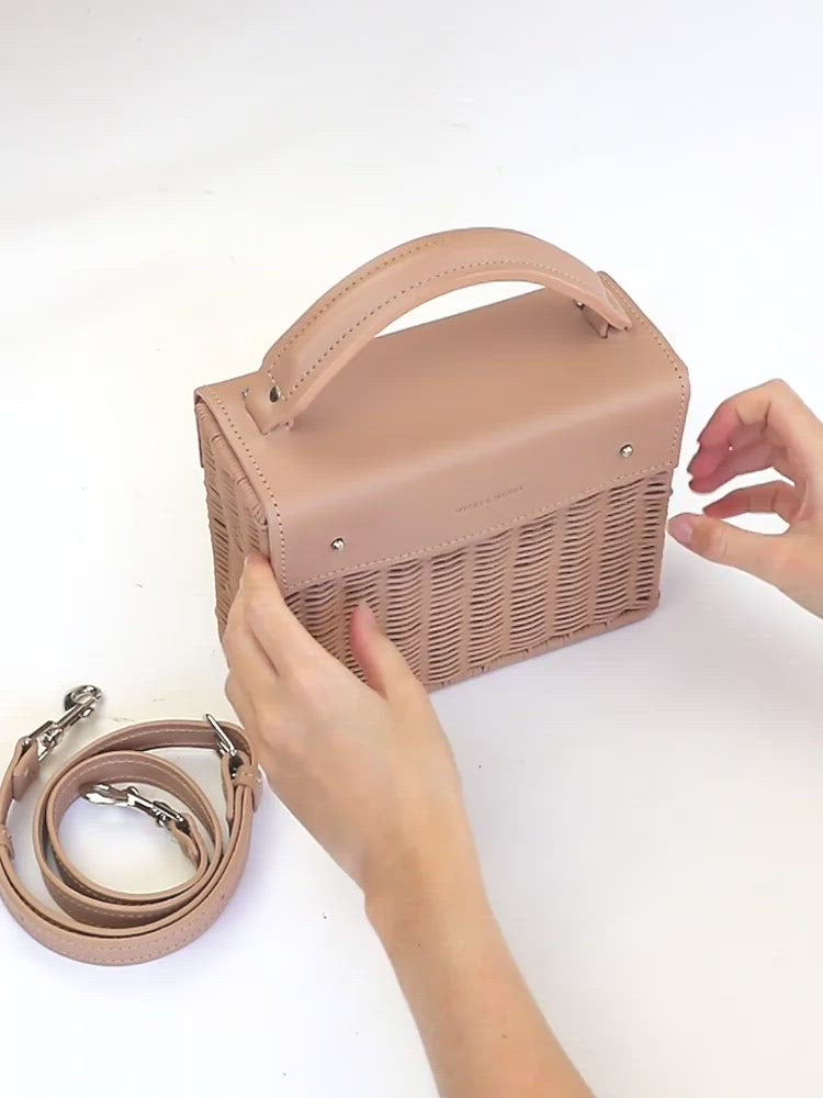 Kuai---Pink---Front-Wicker-Wings-WickerBag-BucketBag-BagsforWomen-DesignerHandbags-BeachBag-SummerBag-StrawBag-BlackBag-CrossbodyBag-MiniBag-LeatherHandbags-Purse