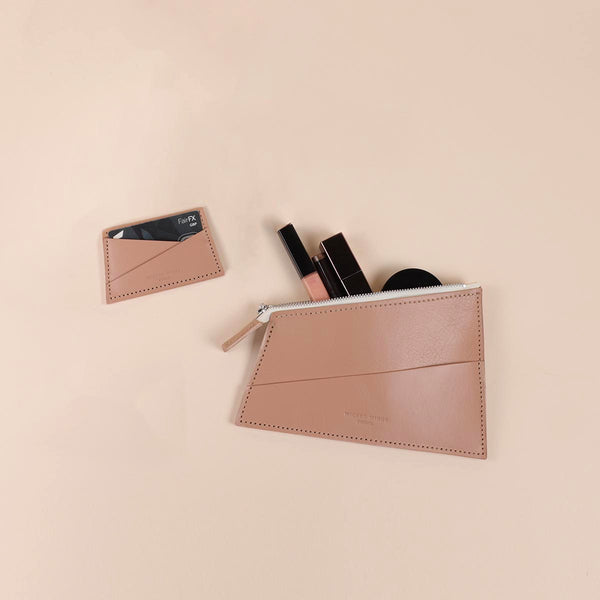 Camel Zipped Pouch & Cardholder Set (5060372037771)