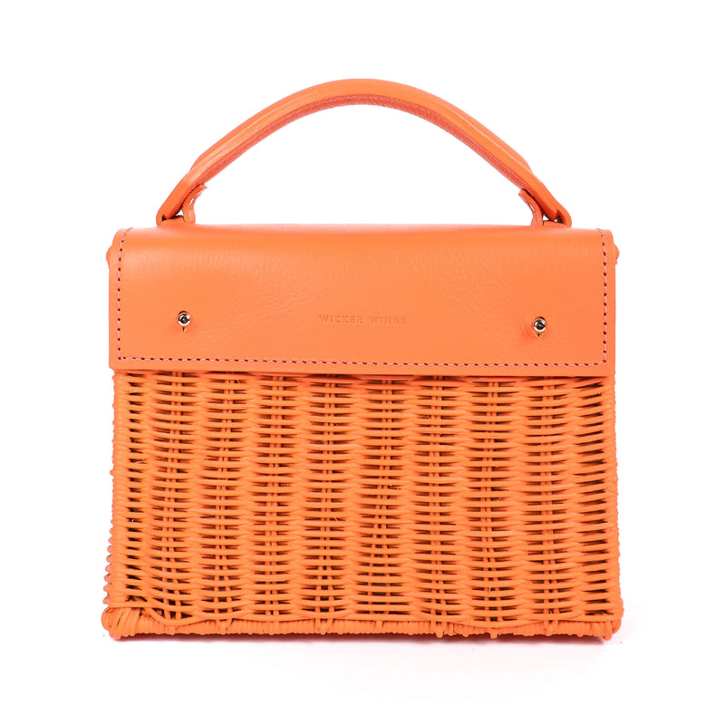 Kuai---Orange---Front-Wicker-Wings-WickerBag-BucketBag-BagsforWomen-DesignerHandbags-BeachBag-SummerBag-StrawBag-BlackBag-CrossbodyBag-MiniBag-LeatherHandbags-Purse