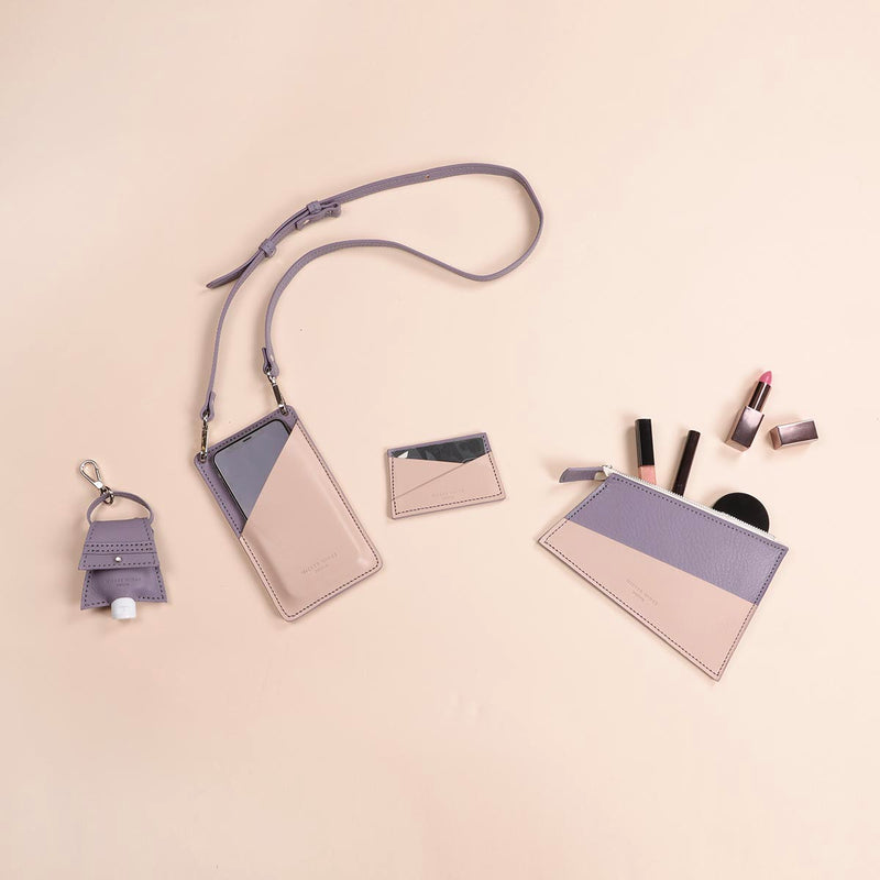 The ultimate small accessories set in Lavender & Cream (5060392910987)