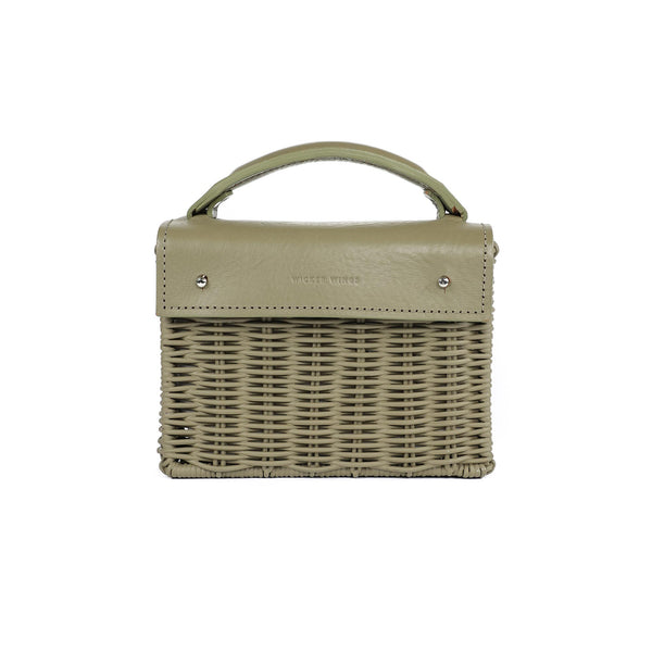 Wicker Wings - Wicker Handbag - Straw Bag - Woven Bag - Summer Bag - Basket Bag (4946753880203)