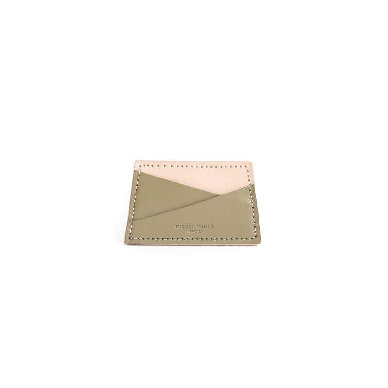 Wicker-Wings-Redone---Cardholder---OliveCream---Front-1--Business-Card-Holder---Card-Holder-Wallet---Credit-Card-Holder---Leather-Card-Holder---Travel-Card-Holder---Women_s-Card-Holder (5054930878603)