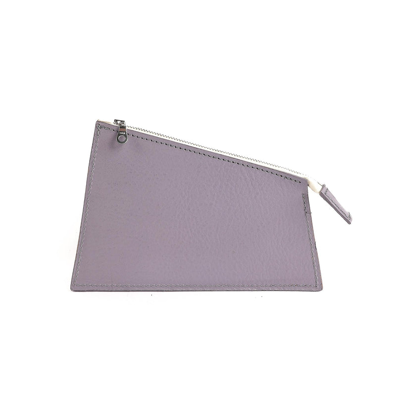 Cream & Lavender Zipped Pouch (5055099175051)