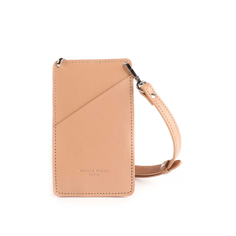 Phone pouch - Mobile Phone bag - iPhone crossbody bag - Small leather goods
