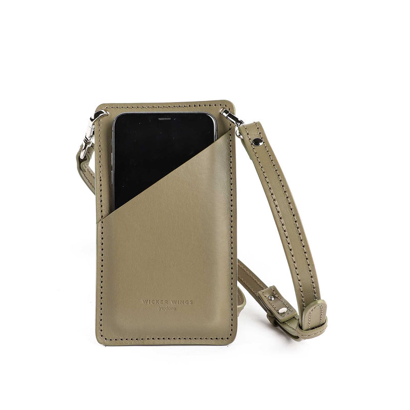 Phone pouch - Mobile Phone bag - iPhone crossbody bag - Small leather goods (5054794760331)
