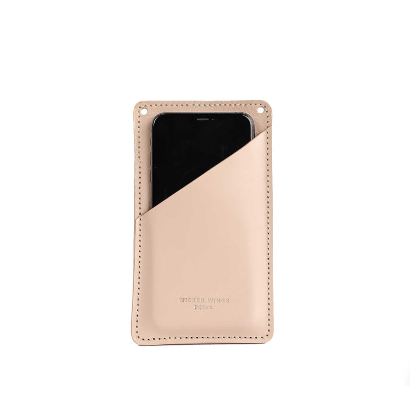 Cream Phone Pouch