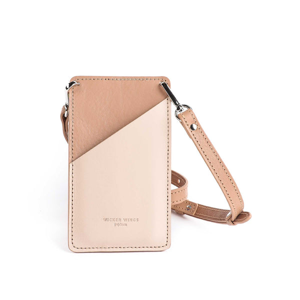 Cream & Camel Phone Pouch (5054719328395)