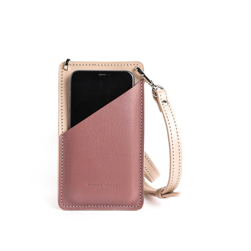 Phone pouch - Mobile Phone bag - iPhone crossbody bag - Small leather goods (5054832246923)