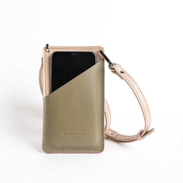 Phone pouch - Mobile Phone bag - iPhone crossbody bag - Small leather goods (5054797480075)
